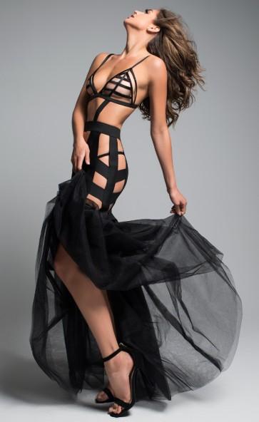 Leia Fantasy Tulle Tail Mermaid Dress