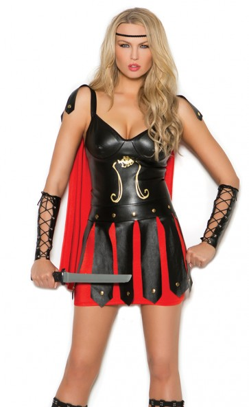 Sultry Spartan Costume