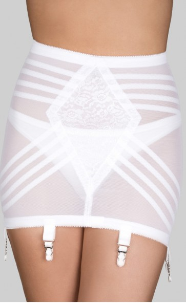 Rago Open Bottom Girdle With Zipper