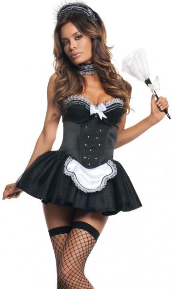 Seductive Maid Costume