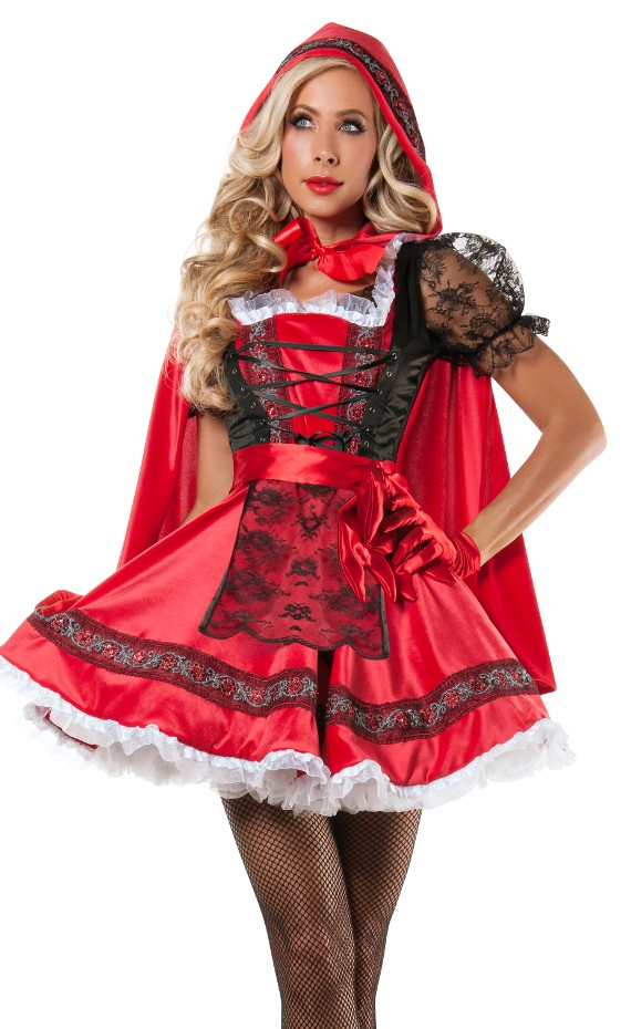 Sweet Little Red Costume