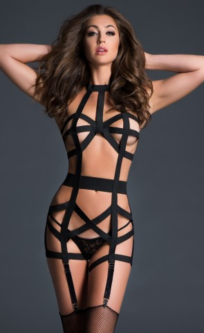 Adore Deliciously Playful Strappy Corset
