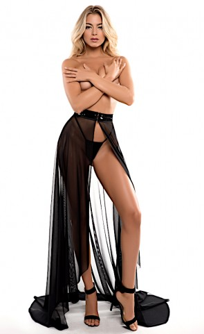 Wrapped Around You Coco Sheer Skirt