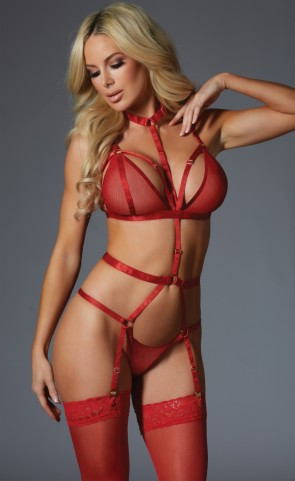 Touch Me If You Dare Strappy Teddy