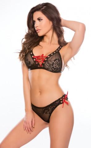 Tara Lace Bralette & Panty Set