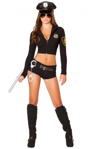 Officer Hottie Costume