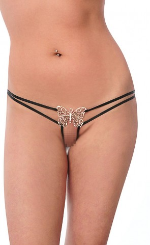 Flutterpixie Crotchless Thong