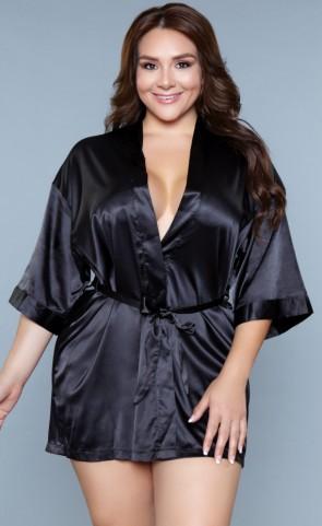 Home Alone Satin Robe Plus Size