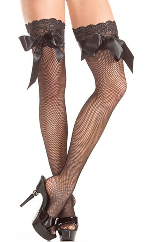 Stay Up Thigh Highs With Bow