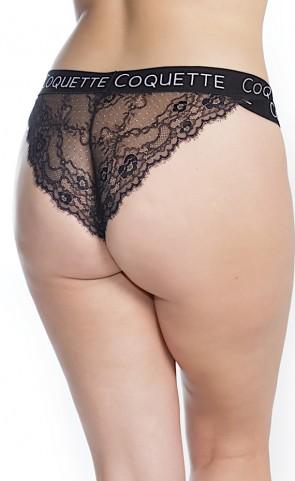 Coquette Double Strap Waist Panty Plus Size