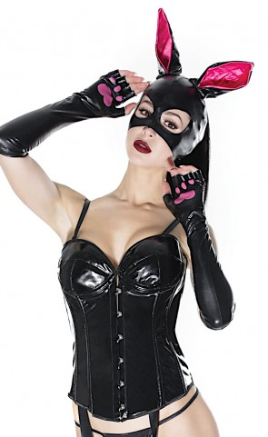 Bunny Mask and Gloves