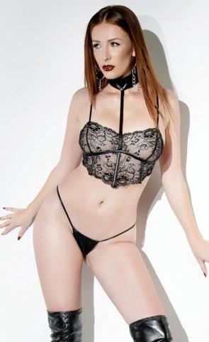 Lace Choker Bralette Set Coquette