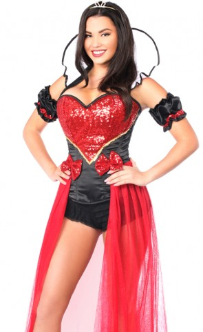 Top Drawer Sexy Fairytale Red Queen Costume