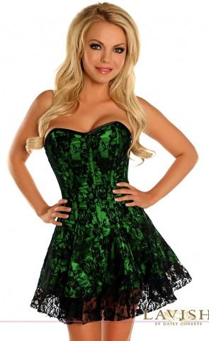 Lavish Lace Corset Dress