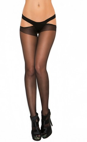 Suspender Pantyhose Plus Size