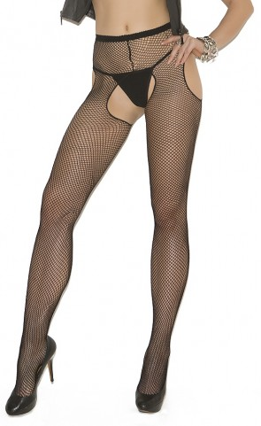 Fishnet Suspender Pantyhose