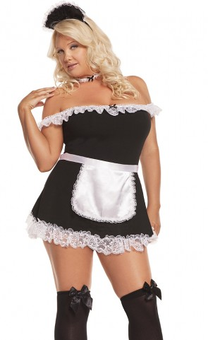 Sexy Maid Costume Plus Size