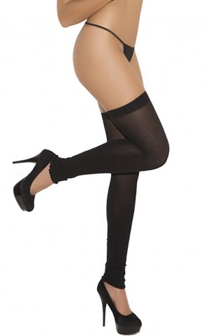 Opaque Thigh Hi Leg Warmers