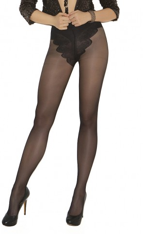 French Cut Support Pantyhose Plus Size