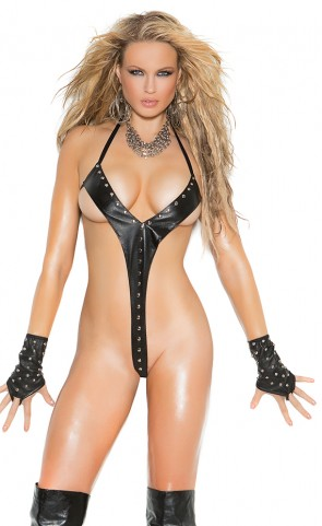 Leather String Teddy