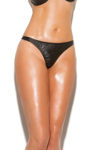 Leather Thong Plus Size