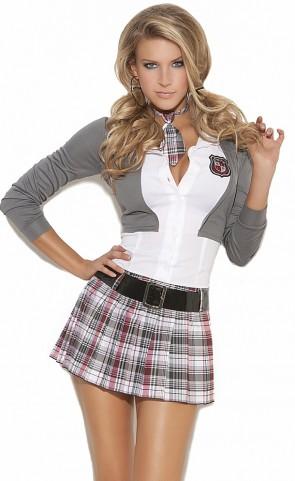 Queen Of Detention School Girl Costume