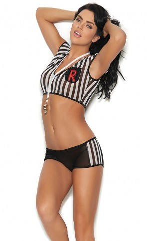 Rowdy Referee Bedroom Costume