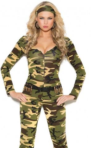 Combat Warrior Costume
