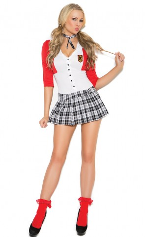 Dean's List Diva School Girl Costume