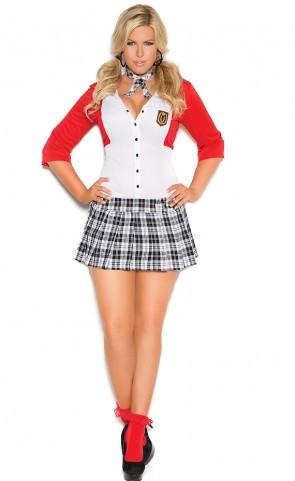 Dean's List Diva School Girl Costume Plus Size