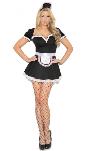 Maid To Please Costume Plus Size