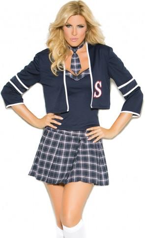 Class Distraction Schoolgirl Costume Plus Size