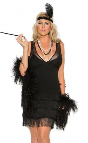 Sexy Flapper Costume Plus Size