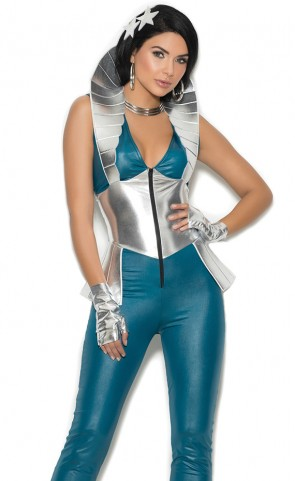 Galaxy Girl Jumpsuit Costume