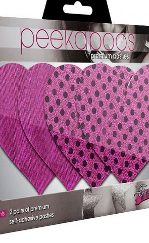 Paradise Found Hearts Pasties