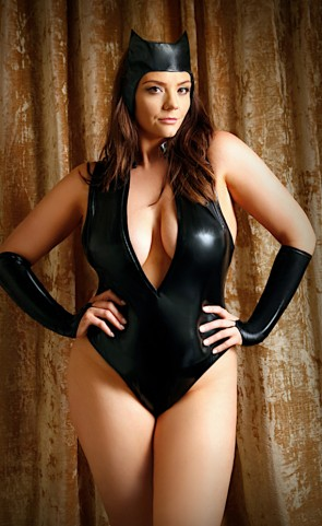 On The Prowl Cat Lingerie Costume Plus Size