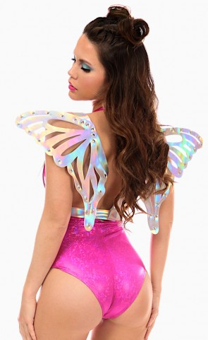 Holo Body Harness With Large Wings