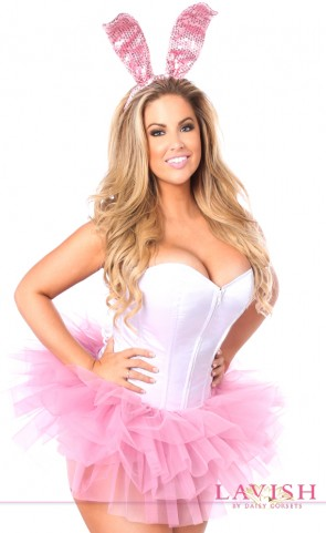Innocent Bunny Corset Costume Plus Size