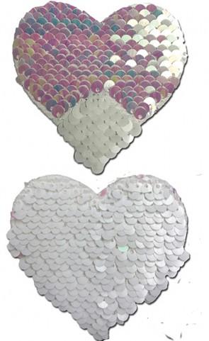 Pastease Flip Sequins Heart