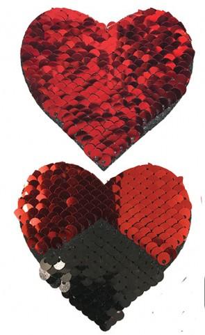 Pastease Flip Sequins Hearts