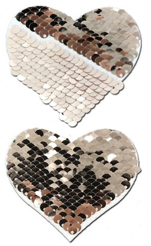Pastease Color Changing Sequins Heart
