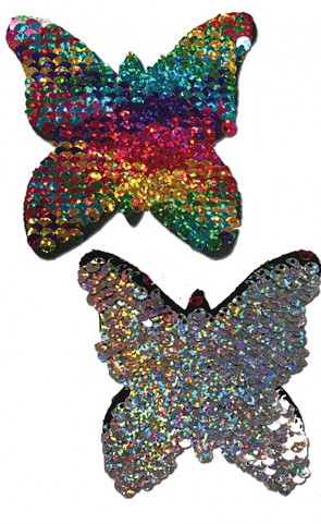 Pastease Color Changing Sequins Butterfly