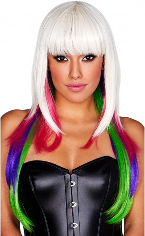 Multi Color Nicki Long Wig