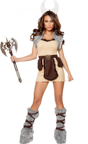 Vicious Viking Costume Dress