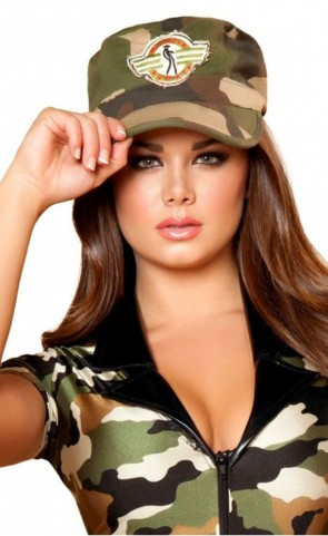 Camouflage Costume Hat