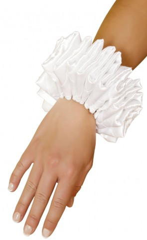 Ruffled Costume Wrist Cuffs