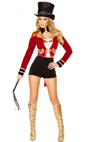 Seductive Circus Leader Costume