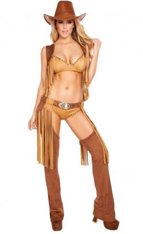 Wild Western Temptress Costume