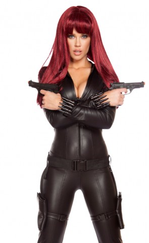 Alluring Assassin Romper Costume