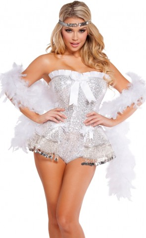Flirty Flapper Romper Costume
